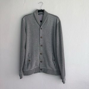 Ted Baker grey size small button front cardigan
